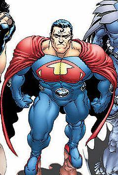 Attack of the villians: Evil version of Superman from a parallel universe. Who is this?
