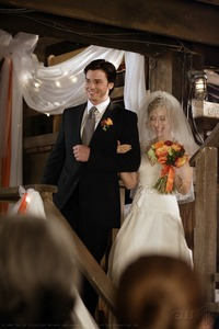 When did Chloe ask Clark 'to give her away at her wedding?