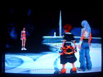 What Did Kairi Say to Sora And Riku In The World That Never Was After They Defeated Xemnas