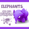 In what episode is Brennan concerned about the color of an elephant?