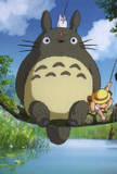 Whats the name of the gaint tree that Totoro lives?
