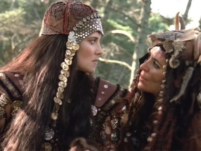 In Adventures Sin Trade PT 1&2 When Xena first met Cyane Queen of the Amazons What Did Alti want Xena do to the Amazons and Cyane?