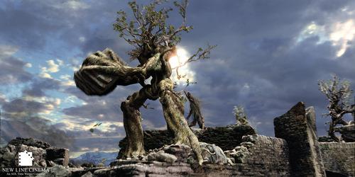 Tolkien later noted that the destruction of Isengard da the Ents was based on his disappointment in a similar scene in what Shakespeare play?