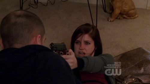 did brooke shoot her attacker(X) in season 6 episode 13?