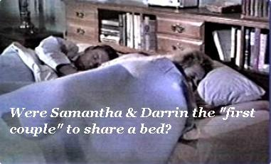 Which of these tv couples were the first filmed/seen sharing a bed?