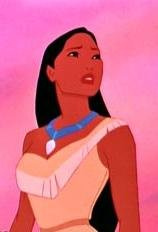 Whos necklace did Cheif Powaton give to Pocahontas?