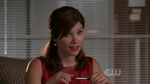 Who was Brooke talking to in this scene?