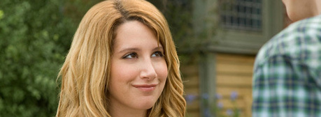 "Who does Ashley Tisdale play in the new movie ""They Came From Upstairs""?"