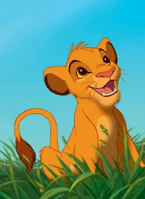 Who plays young Simba?
