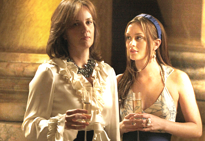 We first saw Margaret Colin as Eleanor Waldorf in this episode.