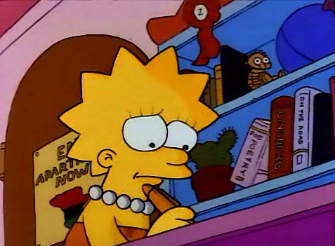 """In """"Bart's Dog gets an F"""", what illness does Lisa come down with?"""