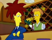 How is Cecil related to Sideshow Bob?
