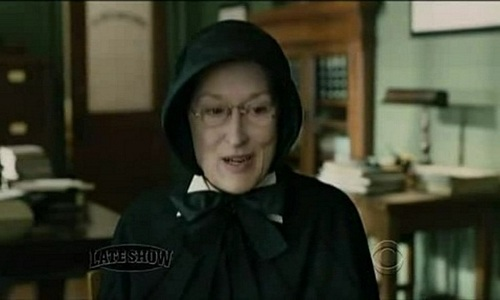 "What is the name of the character Meryl plays in the 2008 film ""Doubt""?"