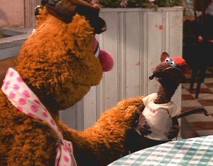 Who is the rat next to Fozzie?