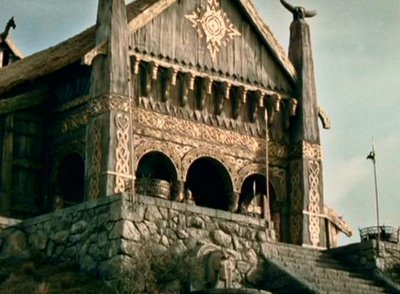 What was golden in the Golden Hall of Meduseld?