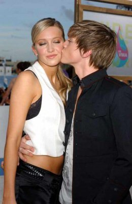 While dating Jesse McCartney on their 1st Anniversary where did he take Katie?