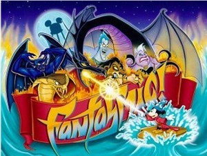 "How long does Disneyland's ""Fantasmic!"" approximately last?"