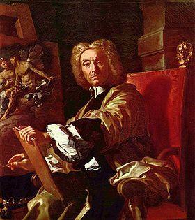 Who is the painter that was so greatly inspired sa pamamagitan ng Carlisle's italian friends?