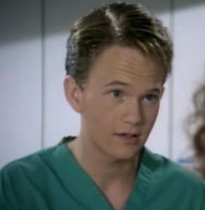 When Doogie writes his journal entry in the last episode of the fourth season, where is he?