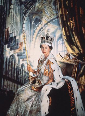 Britain's Queen Elizabeth II began her reign in what year?