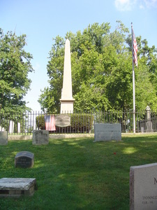 Where is former US president Millard Fillmore buried?