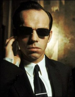 What actor played Agent Smith?