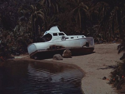 What was the name of the boat that got shipwrecked on Gilligan's Island?