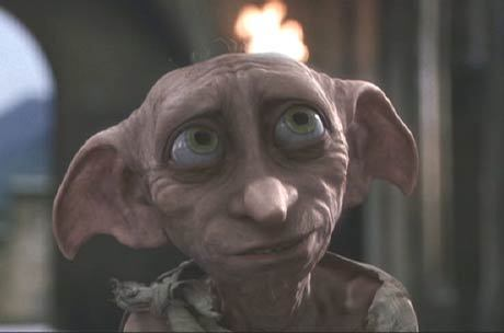How many times a day does Dobby get death threats?