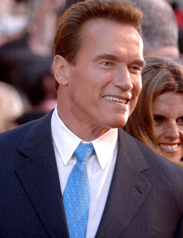 is arnold the governor of california