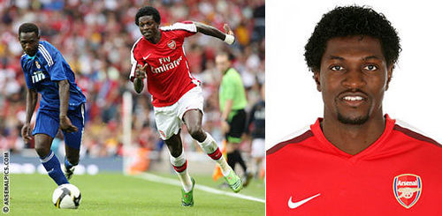 There's a first time for everything: Who was Adebayor's Arsenal debut against?