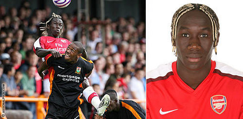There's a first time for everything: Who was Sagna's Arsenal debut against?