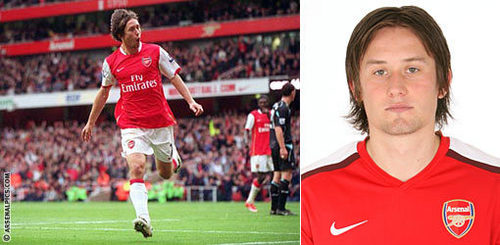 There's a first time for everything: Who was Rosicky's Arsenal debut against?