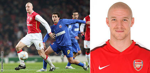 There's a first time for everything: Who was Senderos's Arsenal debut against?