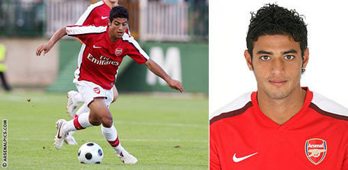 There's a first time for everything: Who was Vela's Arsenal debut against?