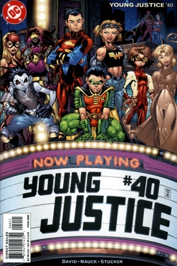Who were the founders members of Young Justice?
