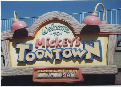 What is the exact date Mickey's Toontown opened at Disneyland?