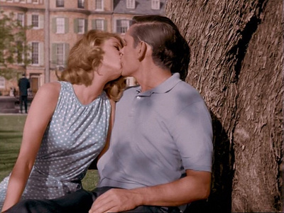 This smooching scene between Samantha and Darrin is from which Bewitched episode?