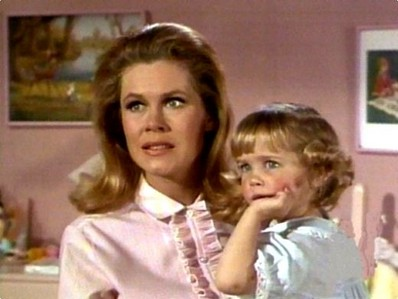 Susan Olsen (Cindy from the Brady Bunch) was the first choice to play Tabitha>