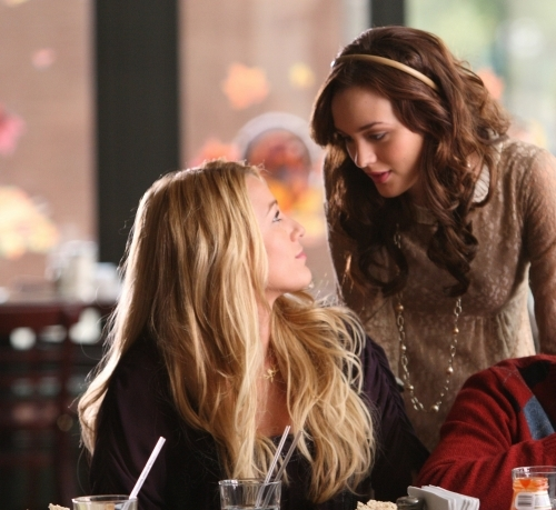 B: I'm really happy for you. I'm going to go vomit now. From which episode?