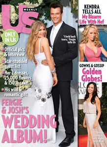 who day was fergie and josh wedding???