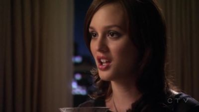 Blair: Oh my God, stop your mouth from moving. From which episode?
