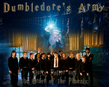 """Who came up with the name """"Dumbledore's Army"""" in OOTP?"""