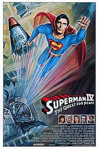 Who directed Superman IV: The Quest for Peace?