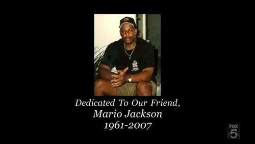 Which episode was dedicated to Mario Jackson?