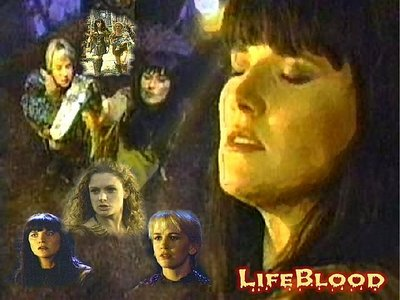 Who had a guest roll in the episode Lifeblood?