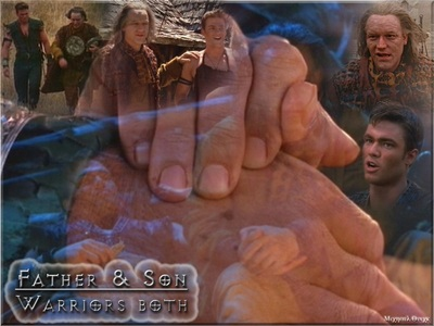 What did Joxer say to Virgil about his adventures with Xena & Gabrielle?