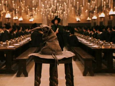 Who does the voice for the Sorting Hat