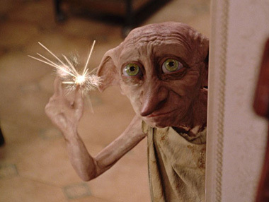 Who does the voice of Dobby?