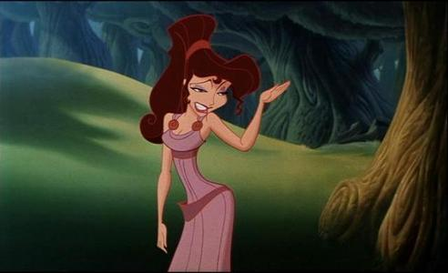 What does Meg call Hercules?