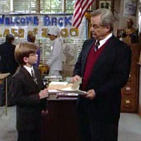 "In the episode ""Class Pre-Union"", Minkus claims to be married to Topanga.  He tells Mr. Feeny that they have just celebrated the birth of their third child, ____________."